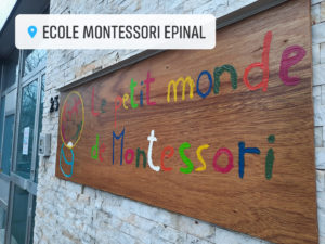 Ecole alternative Montessori Epinal de la maternelle au primaire.